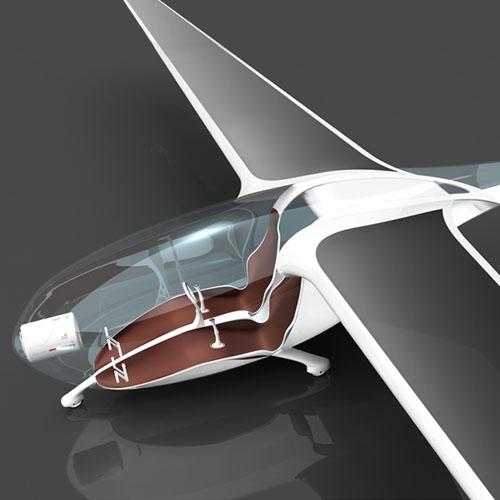 Oriens, el avión transparente